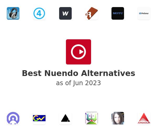 Best Nuendo Alternatives