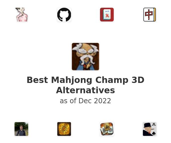 Best Mahjong Champ 3D Alternatives