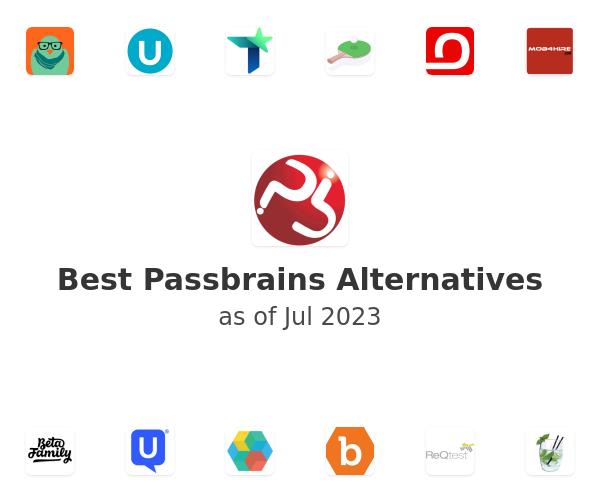 Best Passbrains Alternatives
