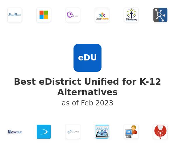 Best eDistrict Unified for K-12 Alternatives