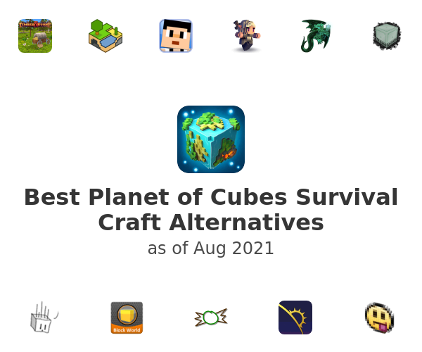 Best Planet of Cubes Survival Craft Alternatives