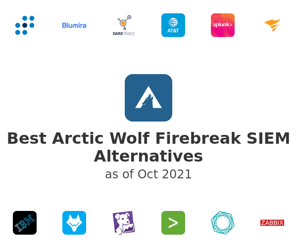Best Arctic Wolf Firebreak SIEM Alternatives