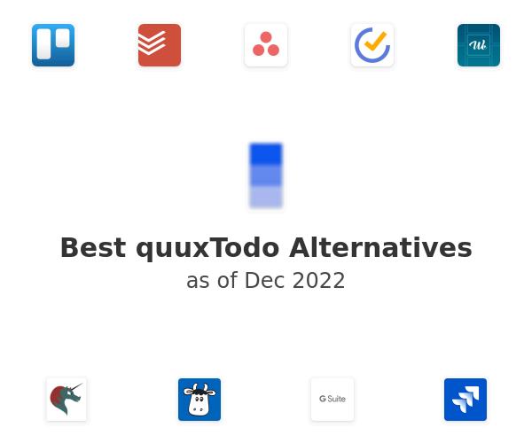 Best quuxTodo Alternatives