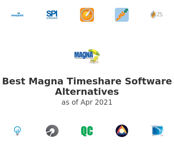 Best Magna Timeshare Software Alternatives