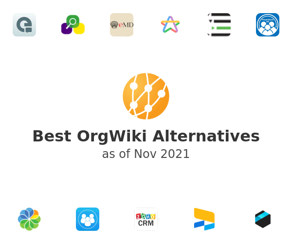 Best OrgWiki Alternatives