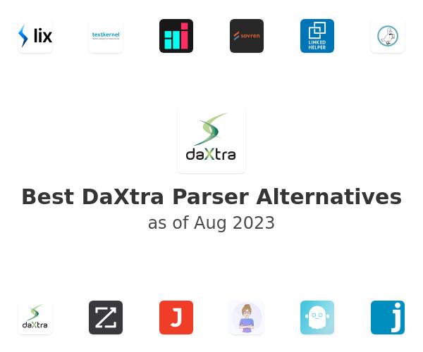 Best DaXtra Parser Alternatives