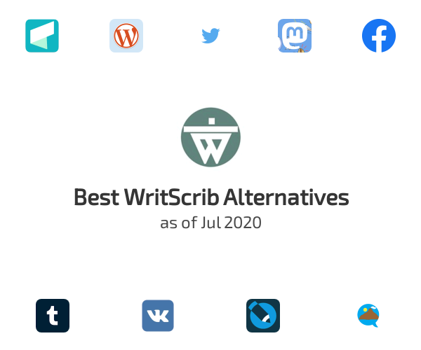 Best WritScrib Alternatives