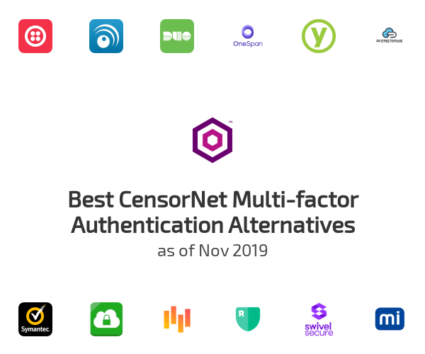 Best CensorNet Multi-factor Authentication Alternatives