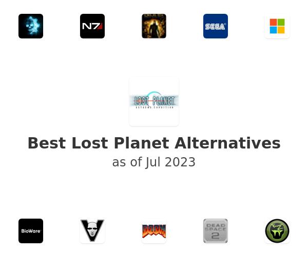 Best Lost Planet Alternatives
