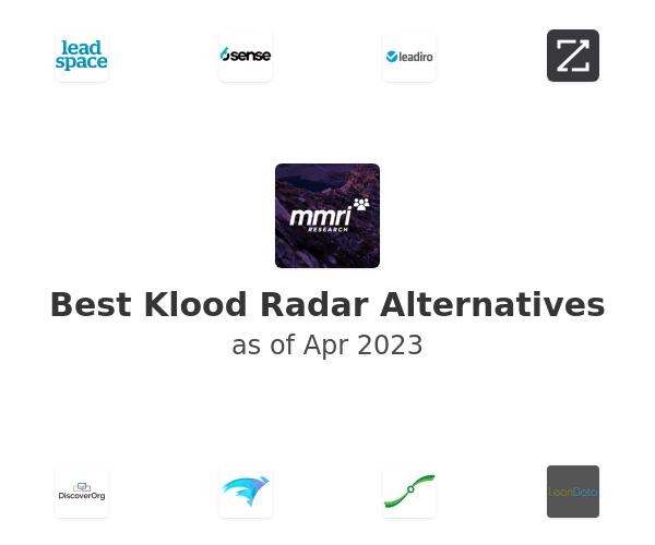 Best Klood Radar Alternatives