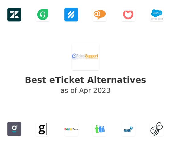 Best eTicket Alternatives