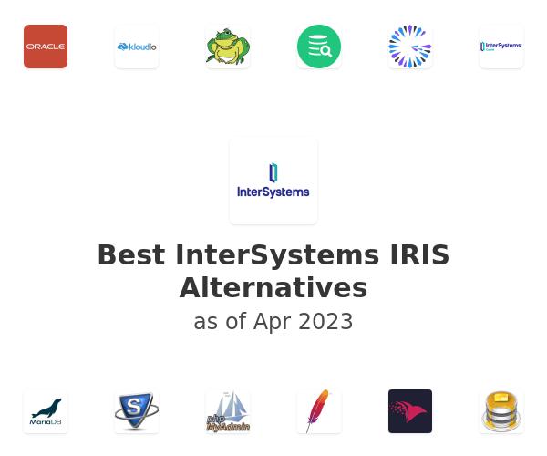 Best InterSystems IRIS Data Platform Alternatives