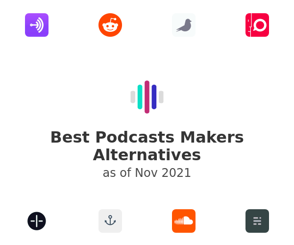 Best Podcasts Makers Alternatives
