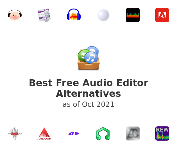 Best Free Audio Editor Alternatives
