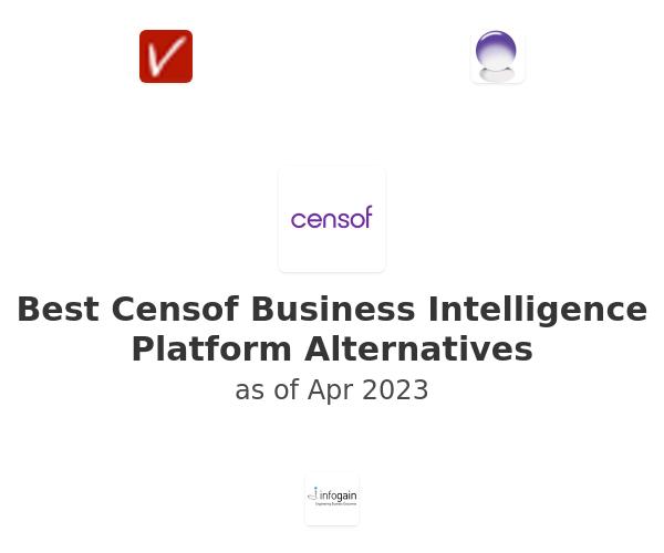Best Censof Business Intelligence Platform Alternatives