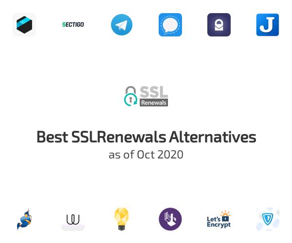 Best SSLRenewals Alternatives