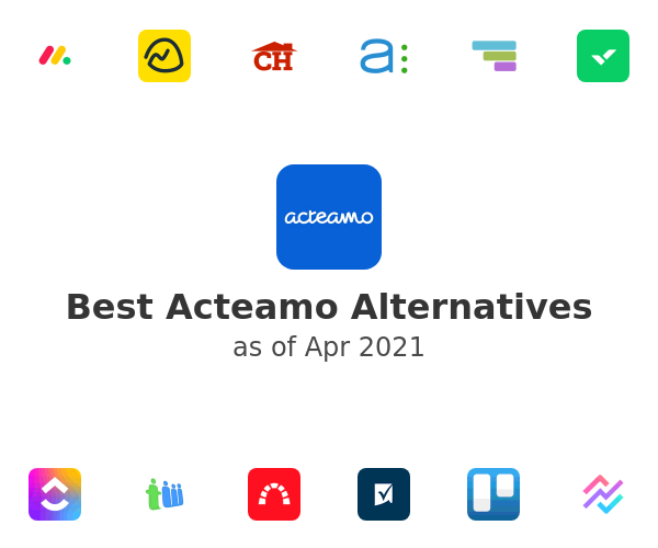 Best Acteamo Alternatives
