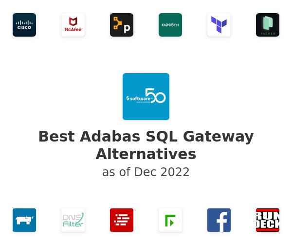 Best Adabas SQL Gateway Alternatives
