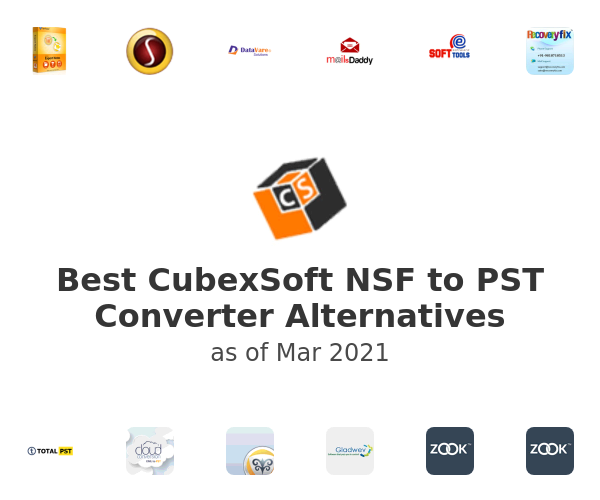 Best CubexSoft NSF to PST Converter Alternatives