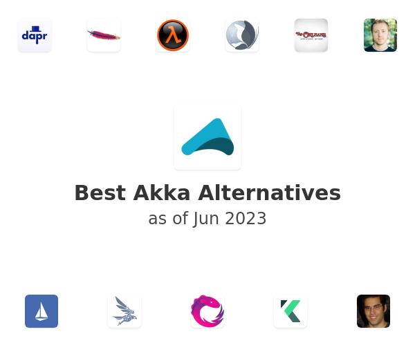 Best Akka Alternatives