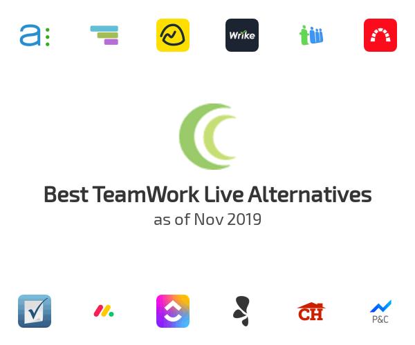 Best TeamWork Live Alternatives