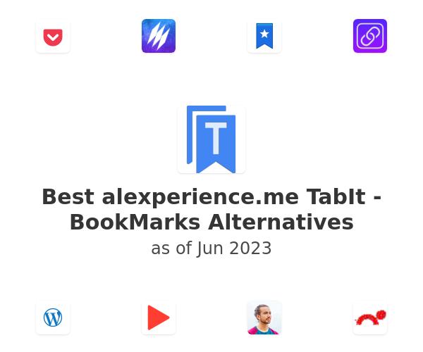 Best TabIt - BookMarks Alternatives