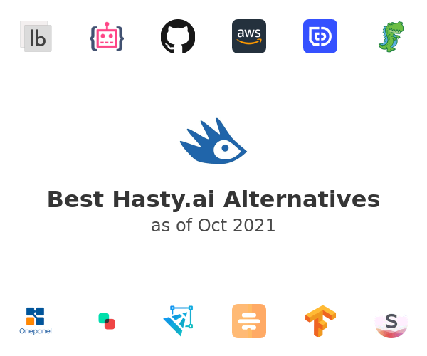 Best Hasty.ai Alternatives
