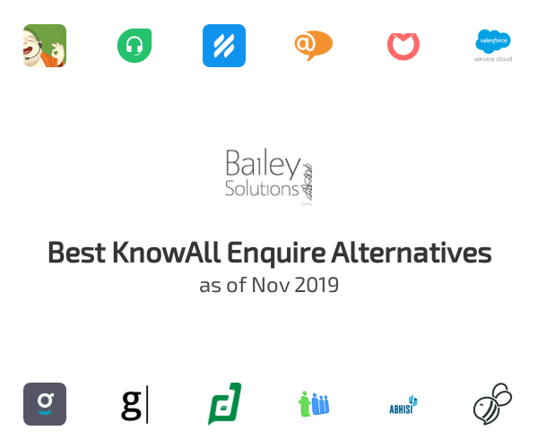 Best KnowAll Enquire Alternatives