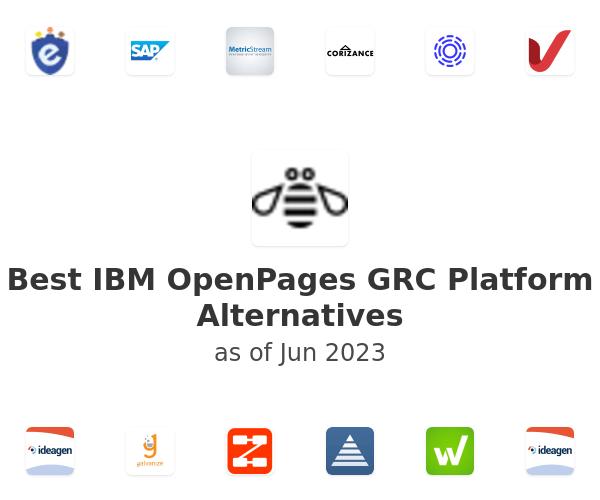 Best IBM OpenPages GRC Platform Alternatives