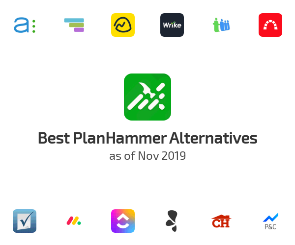 Best PlanHammer Alternatives