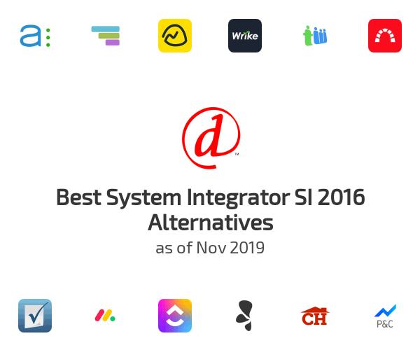 Best System Integrator SI 2016 Alternatives