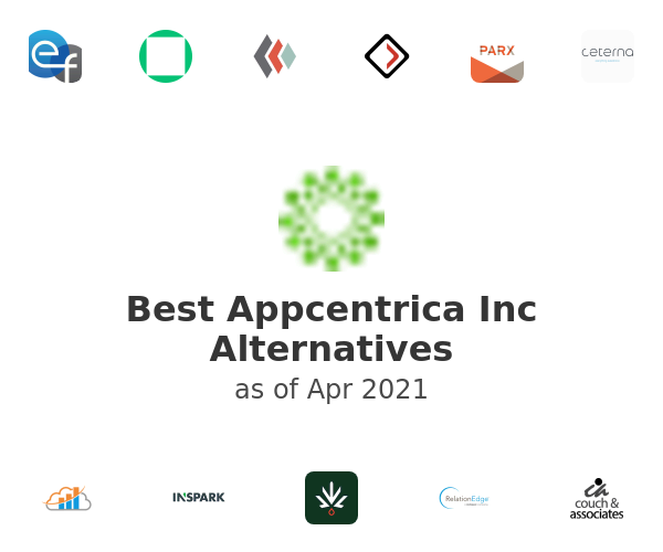 Best Appcentrica Inc Alternatives