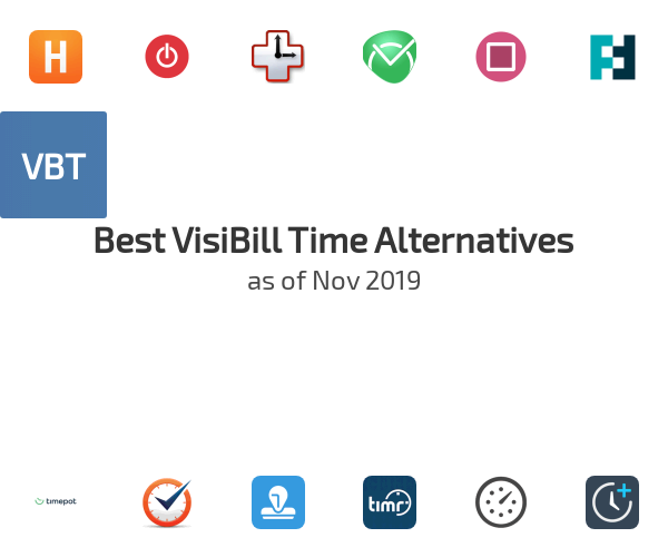 Best VisiBill Time Alternatives