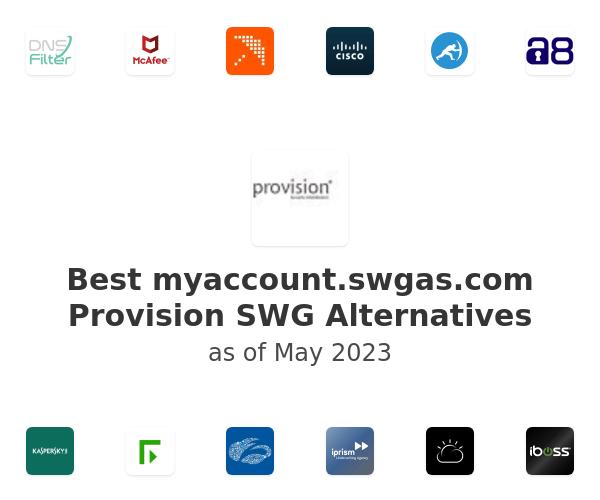 Best Provision SWG Alternatives
