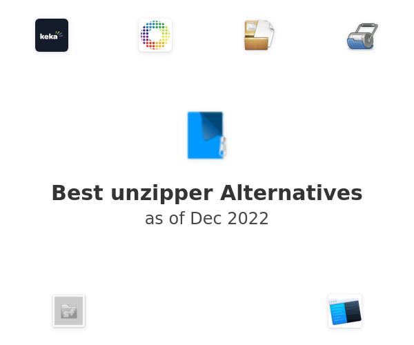 Best unzipper Alternatives