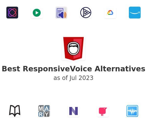 Best ResponsiveVoiceJS Alternatives