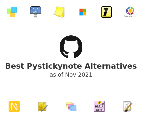 Best Pystickynote Alternatives