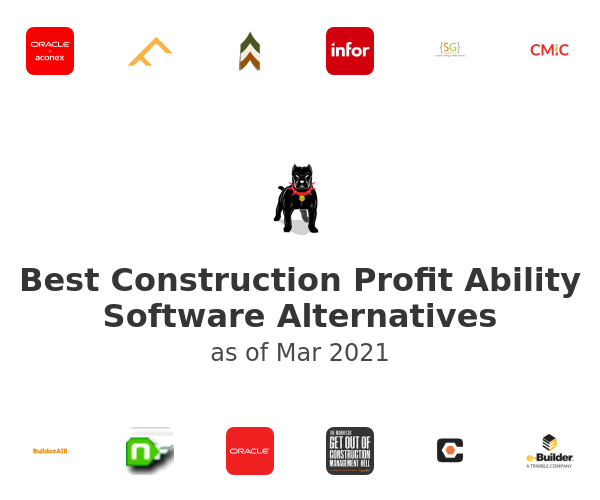 Best Construction Profit Ability Software Alternatives