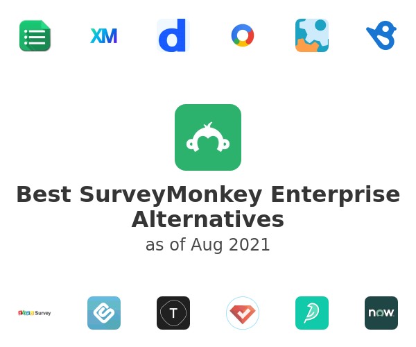 Best SurveyMonkey Enterprise Alternatives