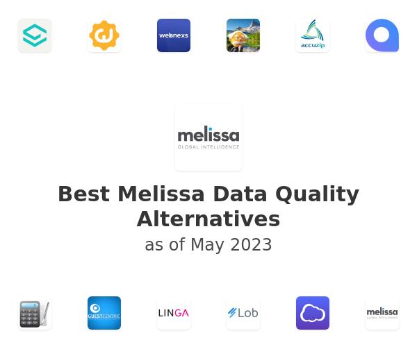 Best Melissa Data Quality Alternatives