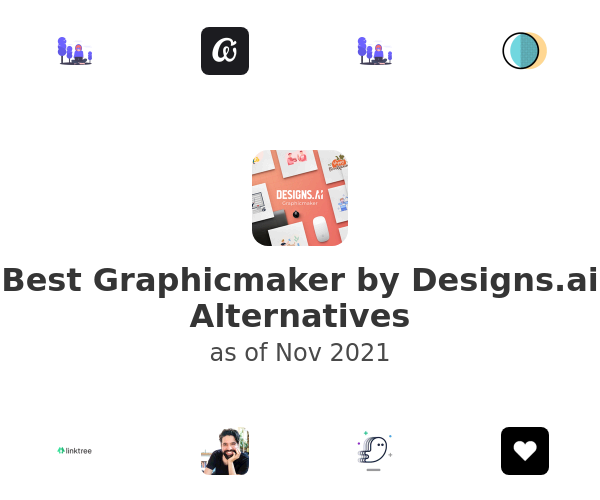 Best Graphicmaker by Designs.ai Alternatives