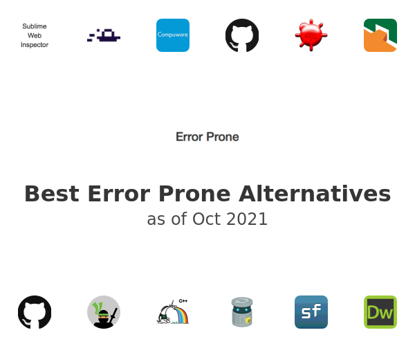 Best Error Prone Alternatives