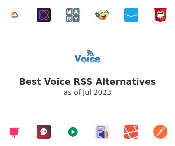 Best Voice RSS Alternatives