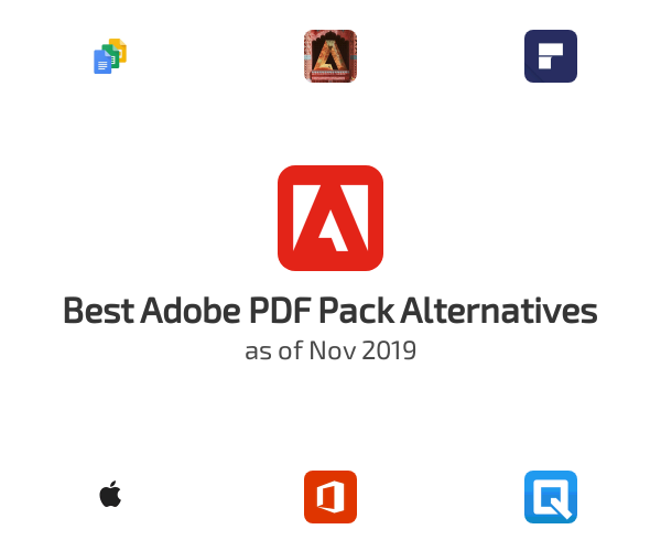 Best Adobe PDF Pack Alternatives