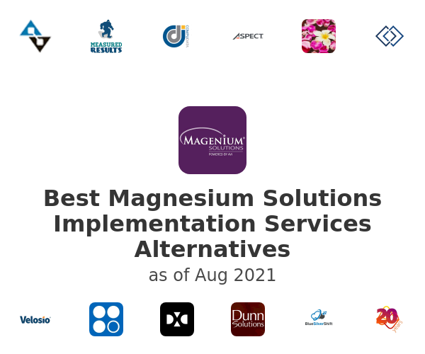 Best Magnesium Solutions Implementation Services Alternatives