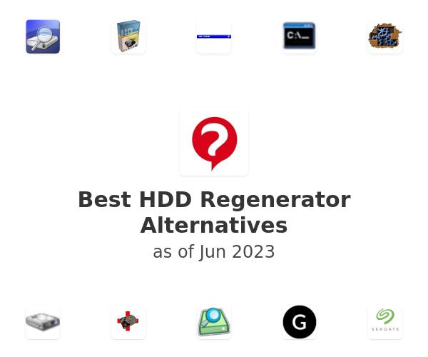 Best HDD Regenerator Alternatives