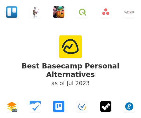 Best Basecamp Personal Alternatives