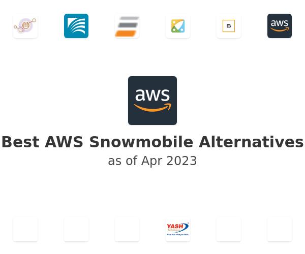 Best AWS Snowmobile Alternatives