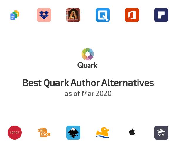 Best Quark Author Alternatives