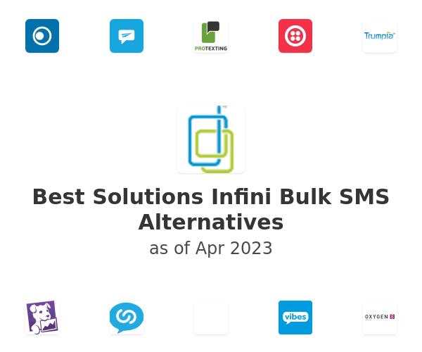 Best Solutions Infini Bulk SMS Alternatives